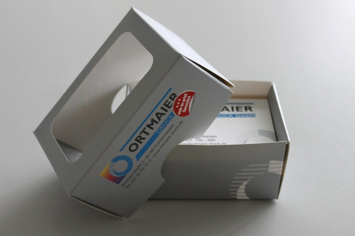 Visitenkartenboxen Drucken Flyerpara De