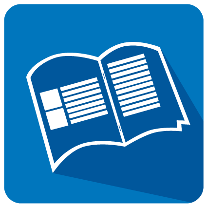 Broschüre DIN Lang (Drahtheftung)