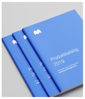 Aktion: Broschüre mit Umschlag