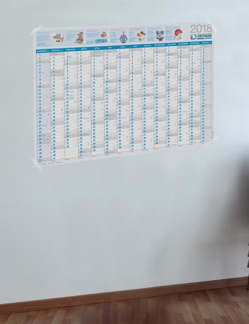Wandkalender - Gestaltungsservice