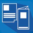 Flyer / Folder im Digitaldruck auf Recycling- oder Naturpapier