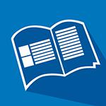 Drahtgeheftete Broschüre (Digitaldruck)